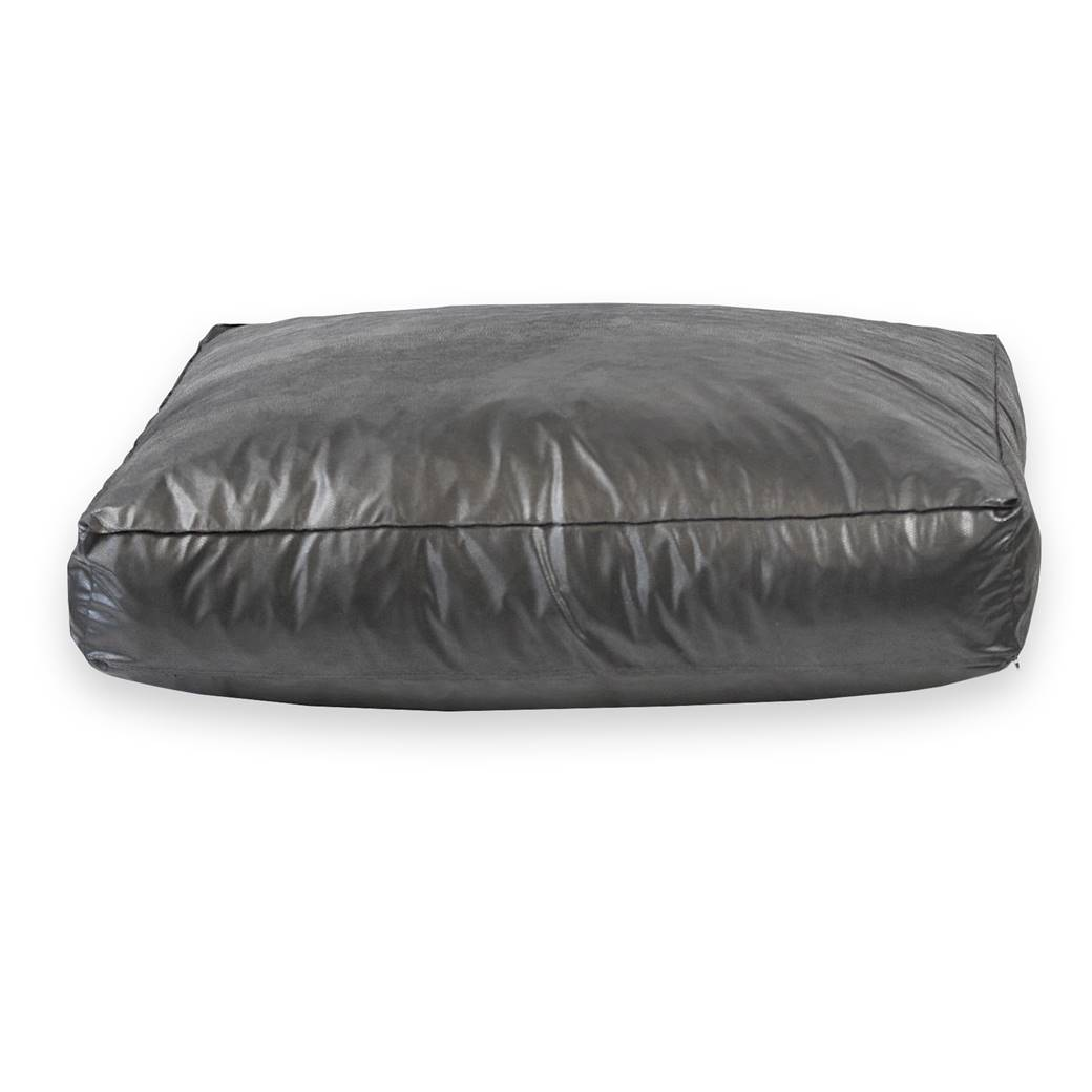 leather dog bed faux leather dog bed rebound foam filled