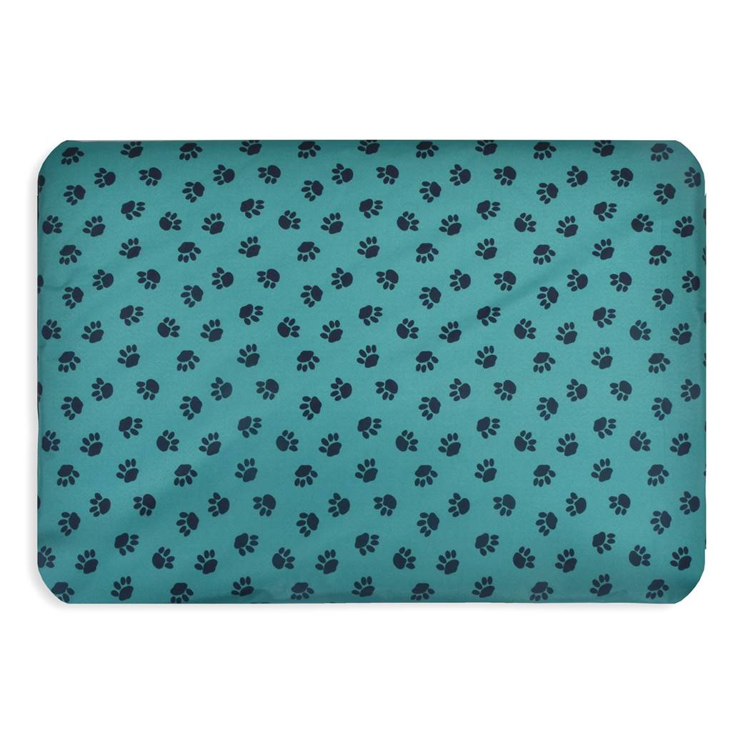 Paws Waterproof Dog Mats Wholesale New Pet Beds Direct : Paws Waterproof Dog Mats 2 green from petbedsdirect.co.uk size 1040 x 1040 jpeg 85kB