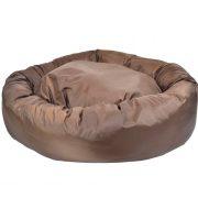 Waterproof_Donut_Bed_Brown_2
