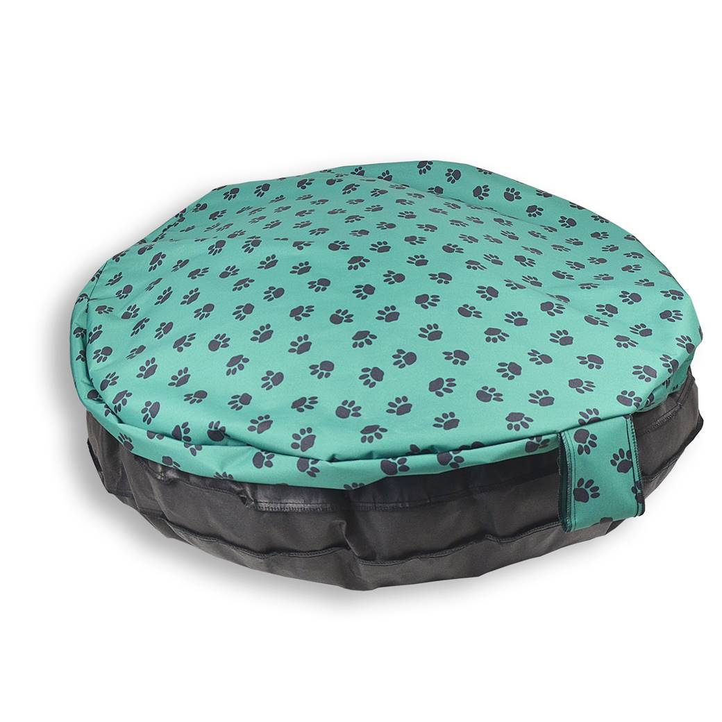 Paws Comfortable Circular Bed With Memory Foam Only