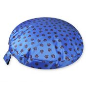 Comfortable_Circular_Bed_with_Memory_Foam_Paws_Blue_01