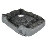 Pet-Bed,-Dog-Bed,-Very-Comfortable,-Oblong-Shape-grey