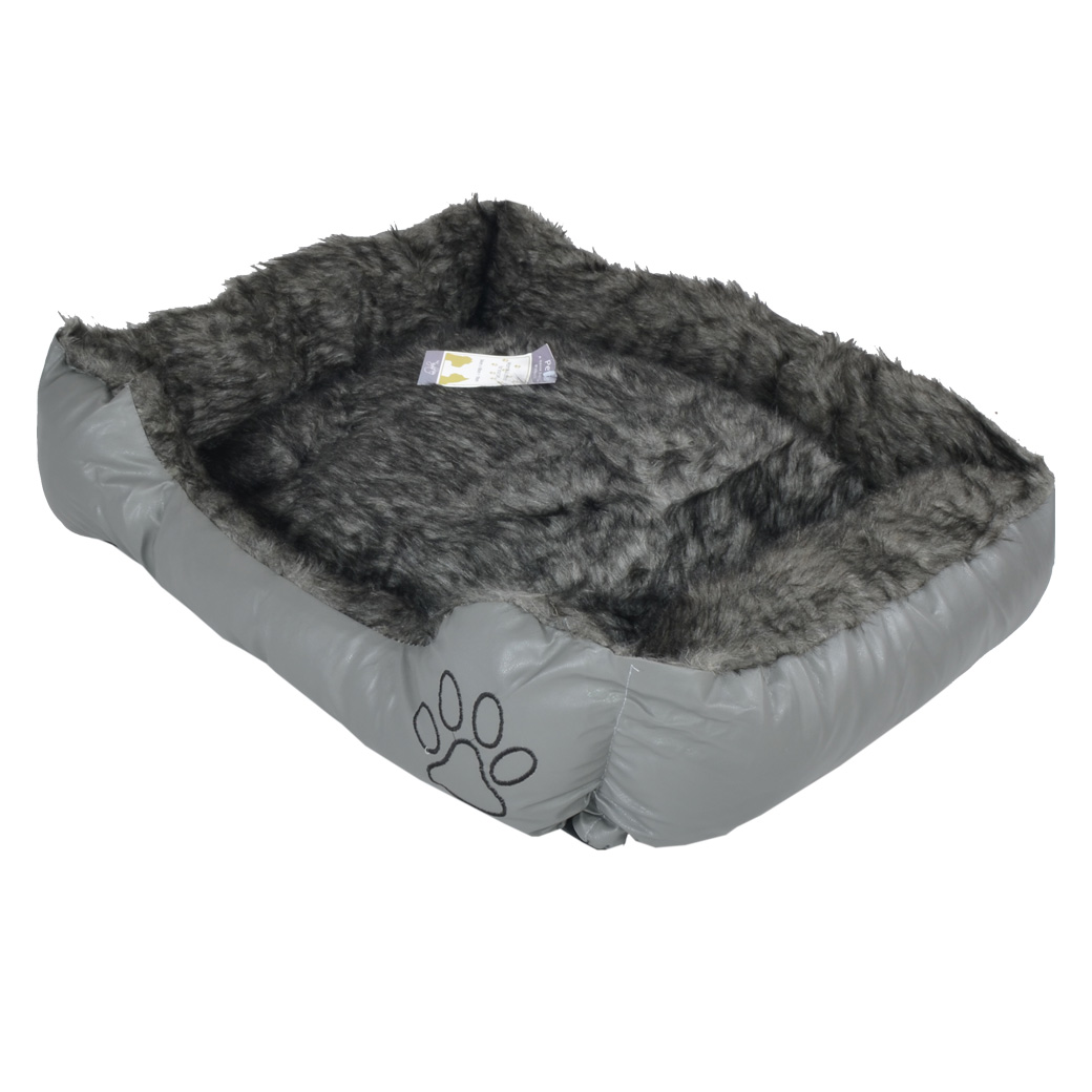 pet bed dog bed very comfortable oblong shape 4