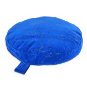 Suggle-Zone-Heavy-Duty-Blue-Circular-Pet-Bed