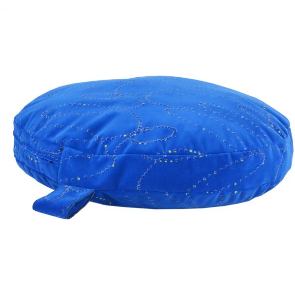 Suggle-Zone-Heavy-Duty-Blue-Circular-Pet-Bed2