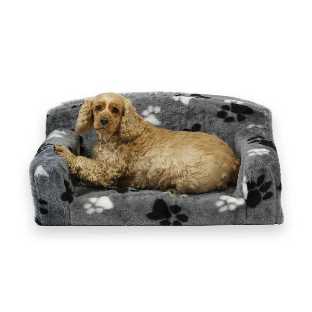 Fur Paws Faux Fur Pet Sofa • New Pet Beds Direct