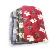 Small Fleece Dog Mats (35pce) (wholesale)