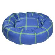 chelsa blue donut blue dog bed