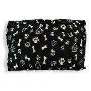 Fleece_Doghouse_Cushion_black