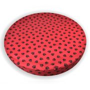 Paws_Orthopedic_Memory_Foam_Dog_Bed_Red_01
