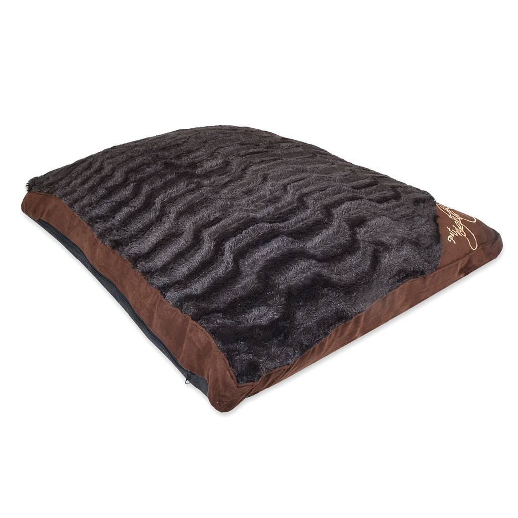 Pet Nights Cushion Dog Bed New Pet Beds Direct : PetNightsCushioncheckbrown2 from petbedsdirect.co.uk size 1040 x 1040 jpeg 77kB