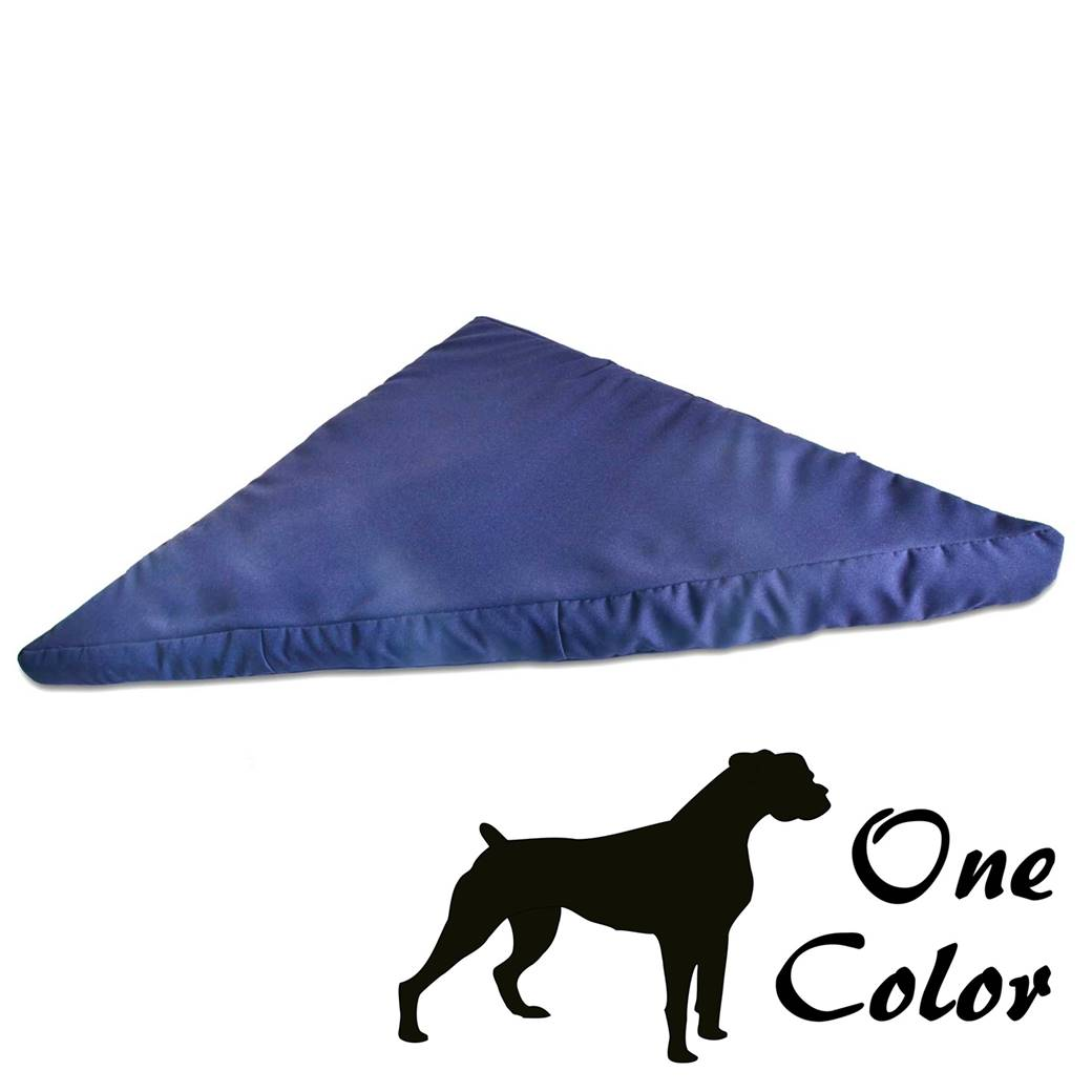 One Colour Corner Dog Bed New Pet Beds Direct : PORTFOLIOCornerbedonecolorblue00 from petbedsdirect.co.uk size 1040 x 1040 jpeg 49kB