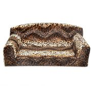 Animal sofa Brown Leopard made in UK