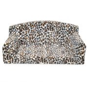 Animal sofa Cream Leopard dog bed from uk