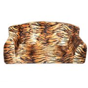 Tiger animals fabric for dog bed uk
