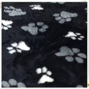 fur paws ring sofa black