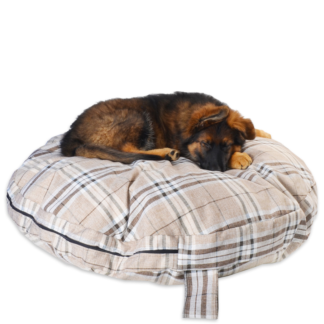 Snuggle Zone Gleaneagles Circular Pet Bed New Pet Beds