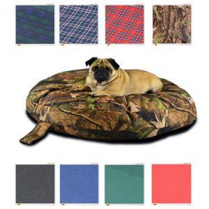 circular DOG BEDS 8 COLOURS