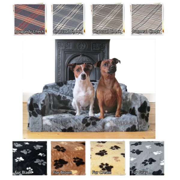 FUR PAWS DOG BED