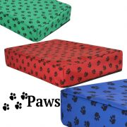 PAWS Orthopedic MemorY Foam Dog Cube Bed